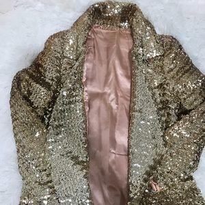 Jackets & Blazers - ILGWU Vintage 1920s. - 1930s sequin maxi long coat